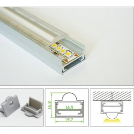 LED profile ALP012 for Recessed light