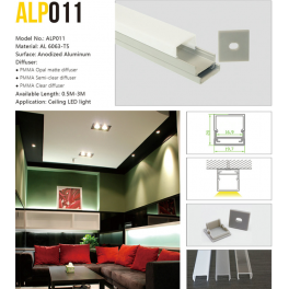 LED profile ALP011 for  Recessed light