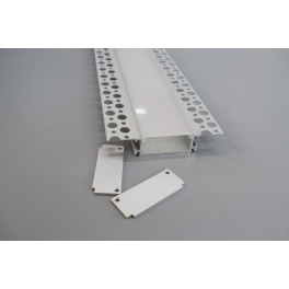 ALP083-S Recessed Aluminium LED profile for drywall use