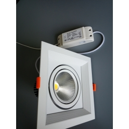adjustable square downlight 15W